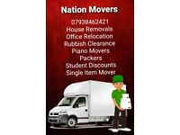 Cheap Quotes House Office Removals Man and Van Piano Furniture Moving packaging Rubbish removals