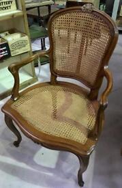 Cane armchair. Salisbury