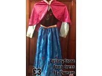 Disney Store Anna Dress 11-12 years - £3