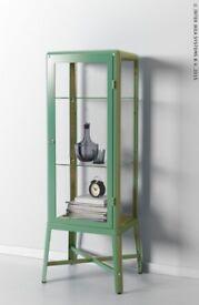 Ikea Glass Cabinet - Green