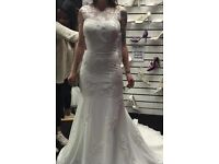 Victoria Kay petite wedding dress