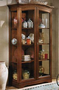 vetrina cristalliera dispensa arte povera per cucina o soggiorno ... - Cucine Arte Povera Prezzi