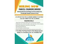 Courier needed. Starting this week