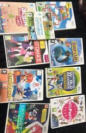 9 Wii Games - Boxed With Instructions