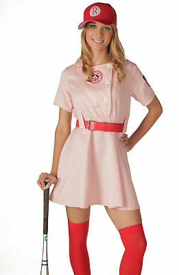 Deluxe Adult -  A League of Their Own Rockford Peaches Costume - Movie Costume - Peaches Costume