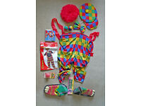 Smiffy's Adult Clown Costume + EXTRAS