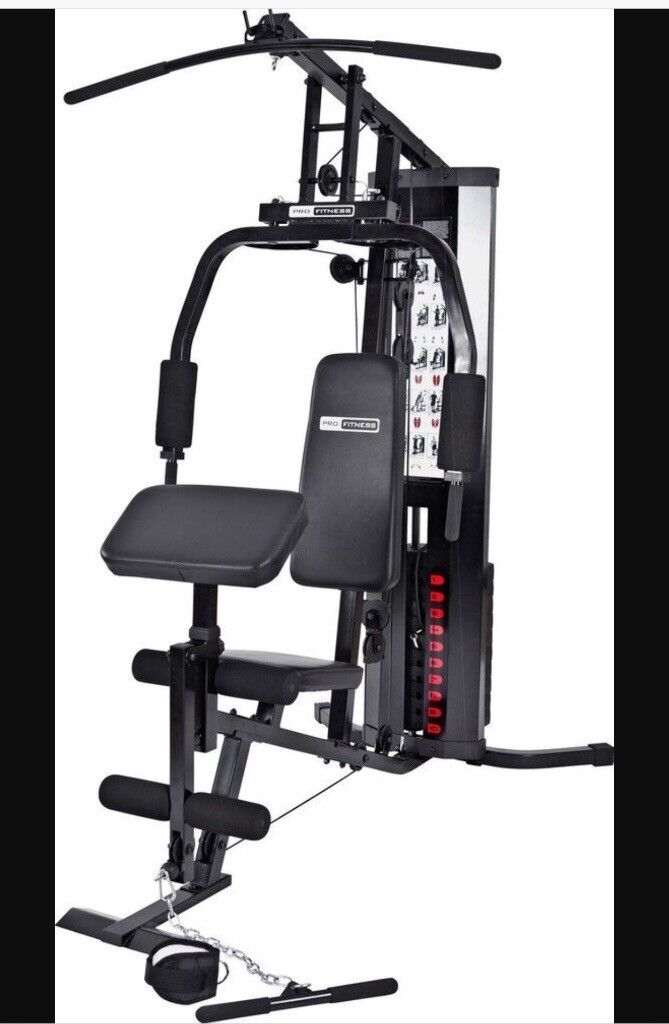 Pro fitness multi gym. 2 months old only assembled never used