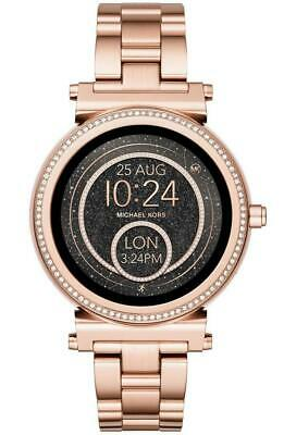 Michael Kors Access Women's Sofie Glitz Touchscreen SmartWatch MKT5022J Open Box