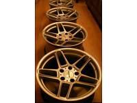 Brand new ac schnitzer alloy wheels 8.5x17