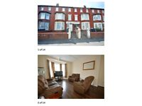 6 Bed Terraced Property, Central Drive, Blackpool