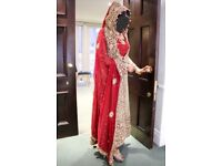 Pakistani indian wedding dress lehnga maxi