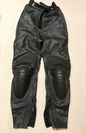 Ladies IXS leather trousers Black 36