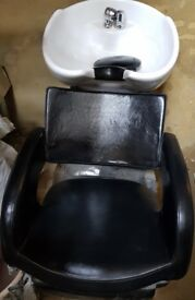 Salon Backwash Chair , Normal Hair Chair and Stand Hairdryer for sale
