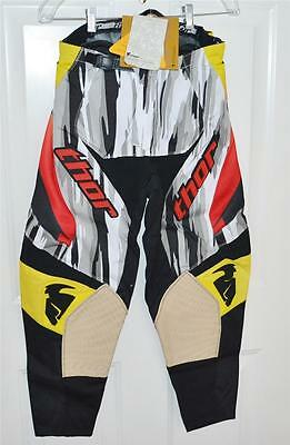 New Thor Adult Phase S11 Performance Pants Rock Star Size 28 ATV Motorcross MX