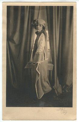 1920s Portrait Flapper Girl High Fashion, O'Neil-Davis Photo, Binghamton, NY