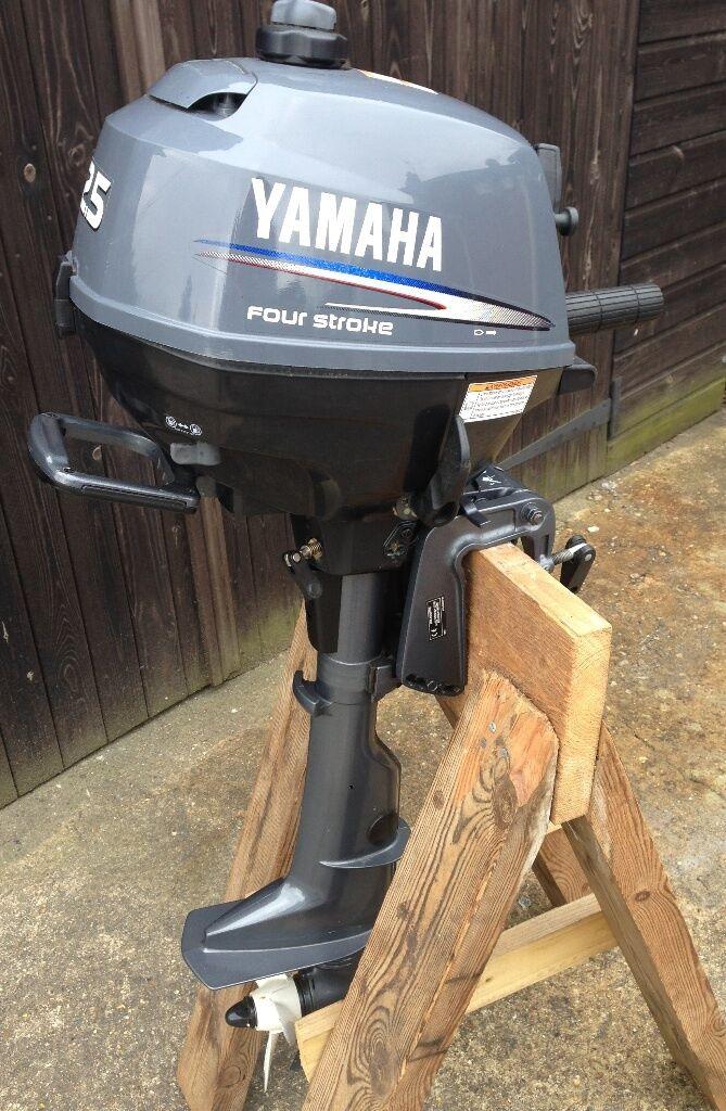 Yamaha 2 5 Hp Outboard Engine Short Shaft 10 Hours Use