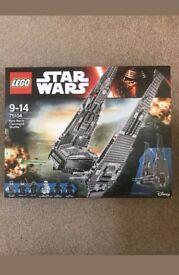 Lego star wars Kylo wrens command shuttle