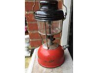 Old Tilley paraffin pressure lamp vintage used