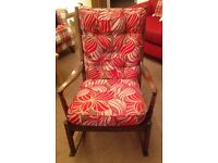 Parker knoll solid wood rocking chair