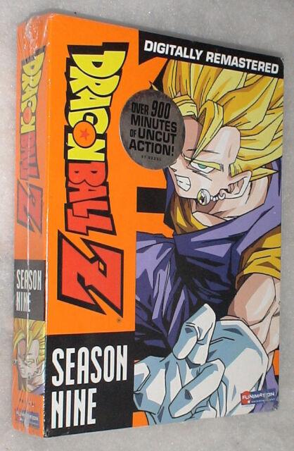 Dragon Ball Z: Season 9 Nine UNCUT Dragonball DVD Box Set - BRAND NEW & SEALED