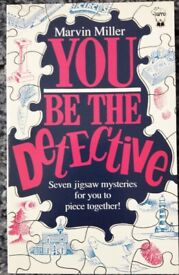 You Be The Detective books/book – post or collect