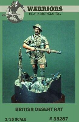 Warriors 1:35 British Desert Rat Resin Figure Kit (British Desert Rat)