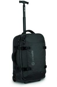 NEW Pacsafe Toursafe AT21 Anti-Theft Wheeled Carry-On, Black