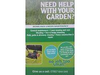 Monklands Garden Maintenance