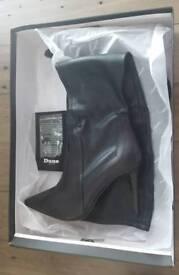 Dune London Soula knee high boots size 5