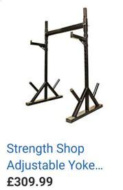 Adjustable Yoke Training Station / Rack