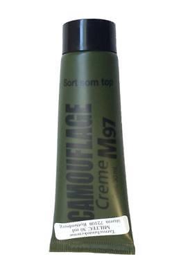 Bote de pintura camuflaje facial 30 g negro enmascaramiento de cara e.militar