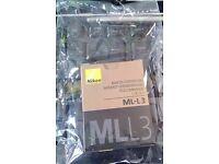 Nikon ML-L3 remote Genuine sealed and boxed £18