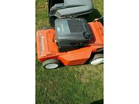 Husqvarna royal petrol engine mower