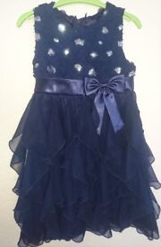 Stunning Waterfall Effect Dress by Design House 'Cinderella' - Age 4