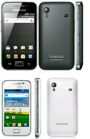 Brand New(Unlocked) Samsung Galaxy Ace White And Black Colour