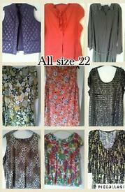 Size 22 ladies clothing