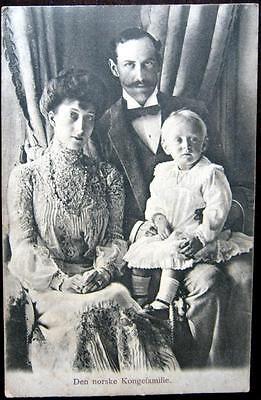 NORWAY~Norge ~ 1900's Den norske Kongefamilie ~ NORWEGIAN KING'S FAMILY