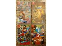 Nintendo Switch with 4 top games & Controller