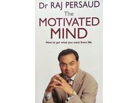 Self help book for sale - The Motivated Mind by Dr Raj Persaud