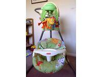 Fisher Price Rainforest Baby Swing. Model K6078.