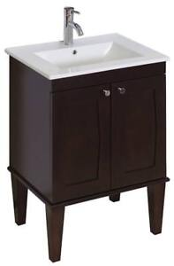 NEW American Imaginations AI-14-540 Modern Wall Mount Plywood-Melamine Vanity Base