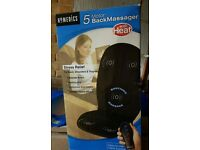 Homedics 5 motor back massager with heat