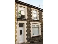 TO LET! A substantial, three storey, 3-bedroom house in Madeline street, Pontygwaith £475 PCM.