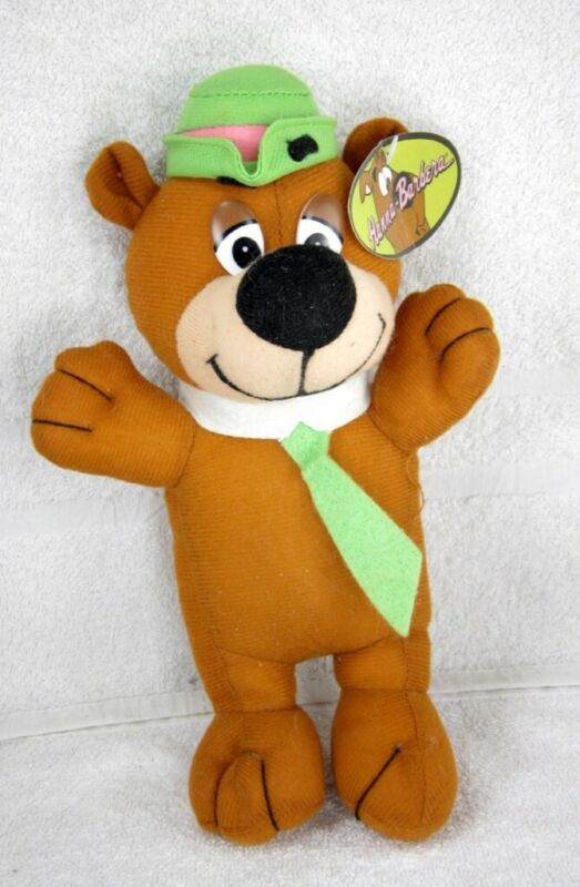 CUTE Hanna Barbera YOGI BEAR as a Child Plush Doll
