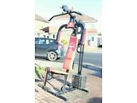 York Compact Multi Gym Complete with Instruction & Exercise Charts