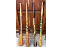 4 x didgeridoos