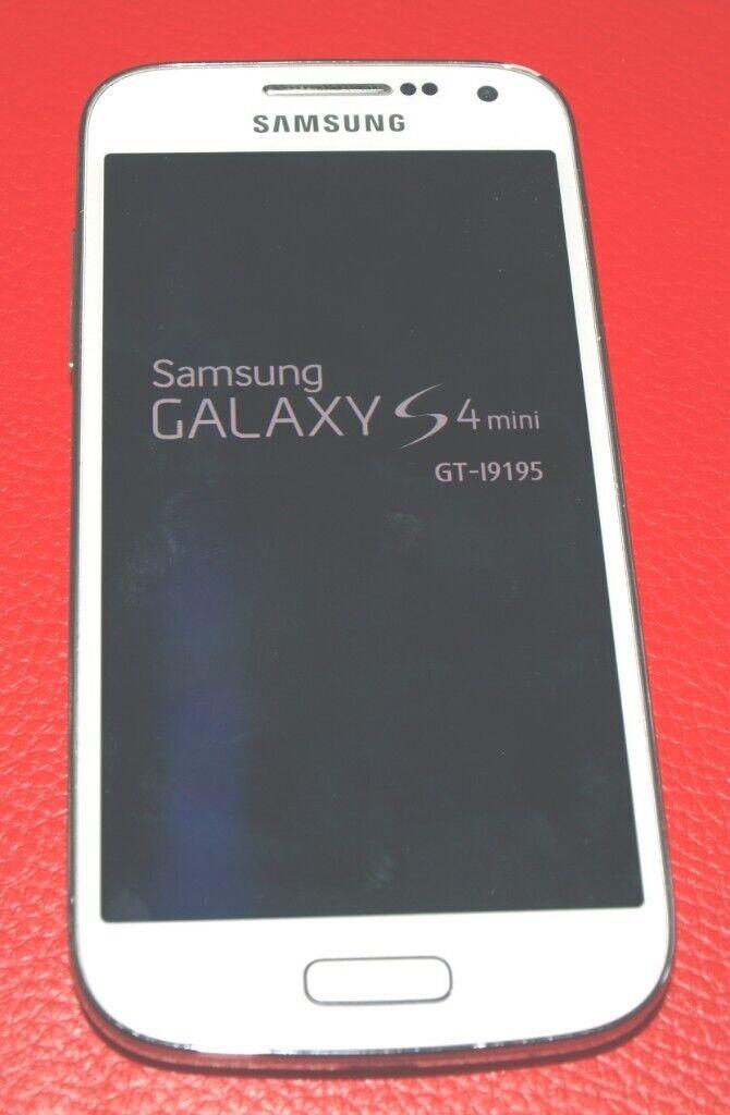 Samsung Galaxy S4 mini GT-I9195 - 8GB - White Frost (UNLOCKED) Smartphone |  in Strensall, North Yorkshire | Gumtree