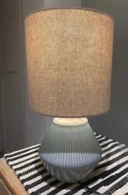 X2 west elm lamps