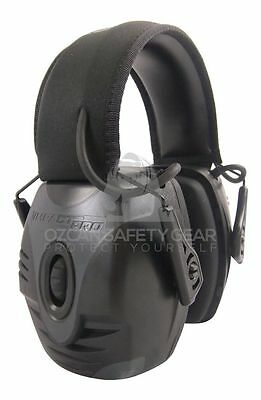 Howard Leight Impact Pro Shooter Electronic Earmuff Protect Sport Tool RRP119.99