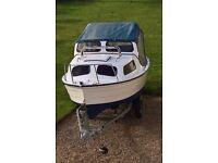 16FT Mayland Fishing Boat/cabin cruiser+trailer